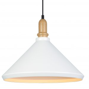 Ellie Pendant Light White